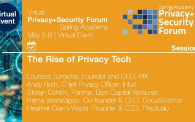 Join The Rise of Privacy Tech @ the Privacy + Security Forum Spring Academy Virtual Event